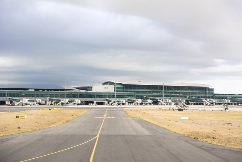 Cape Town International Airport (IATA: CPT) is the second largest airport in South Africa.